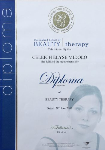 Certificates | Perfect Brow Design