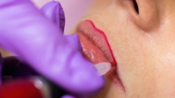 Lip Tattooing   Perfect Brow Design